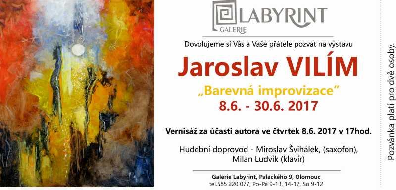 Jaroslav VILÍM: Barevná improvizace