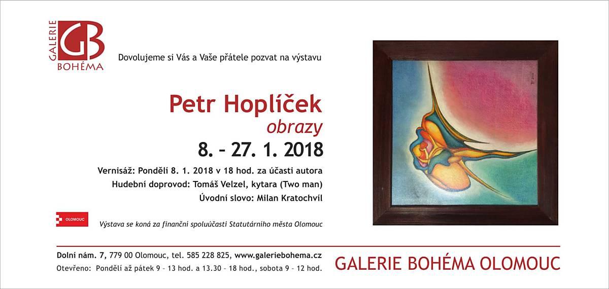 Petr Hoplíček: obrazy
