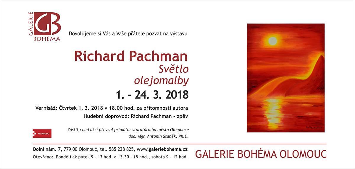 Richard Pachman: Světlo olejomalby