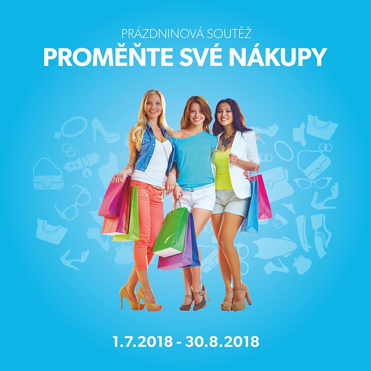 Prázdninová soutěž: proměňte své nákupy