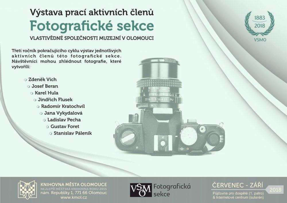 Výstava prací Fotografické sekce VSMO