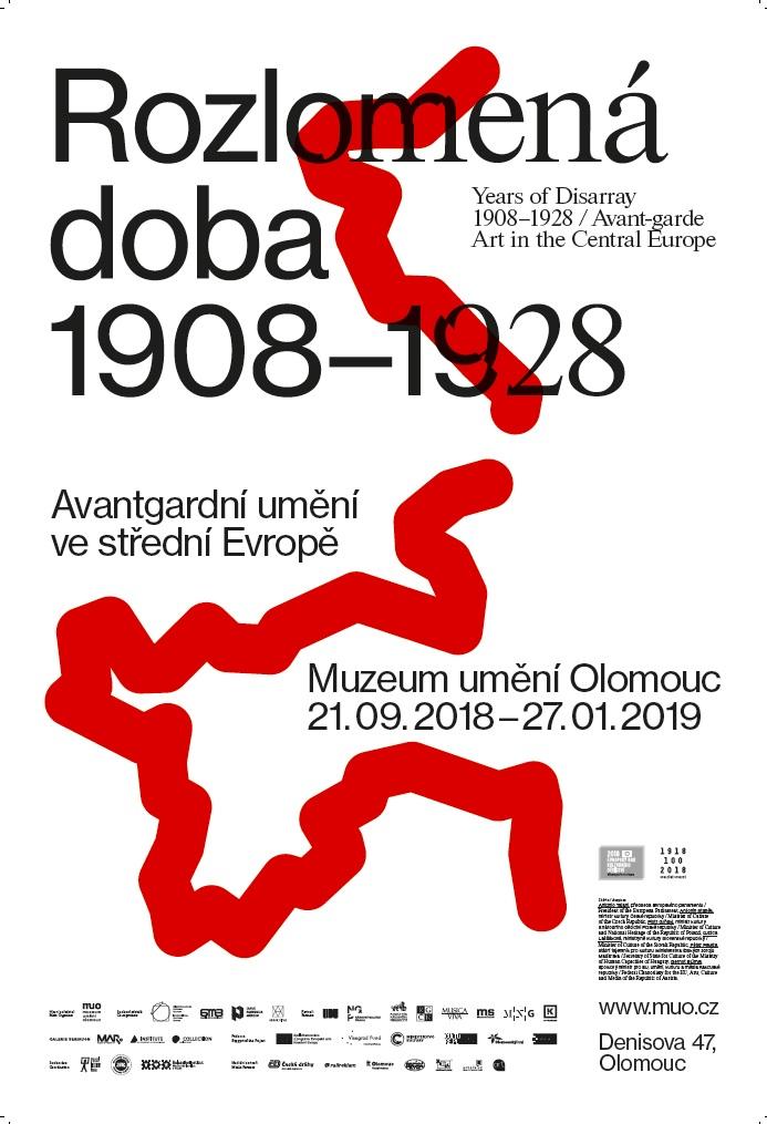 Rozlomená doba 1908-1928 | Avantgardní umění ve střední Evropě
