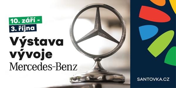 Výstava vývoje značky Mercedes-Benz