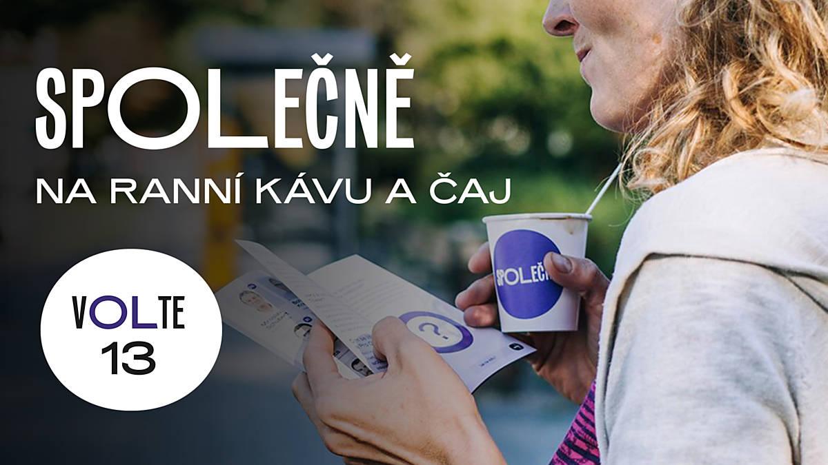 Ranní káva a čaj spOLečně na Brněnské