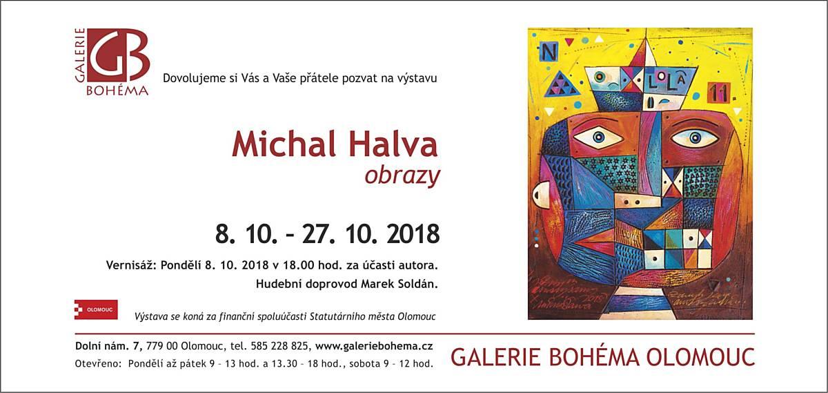 Michal Halva: obrazy