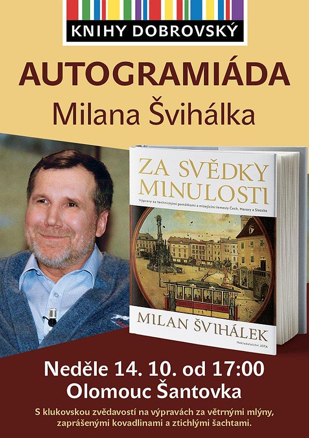 Autogramiáda Milana Švihálka