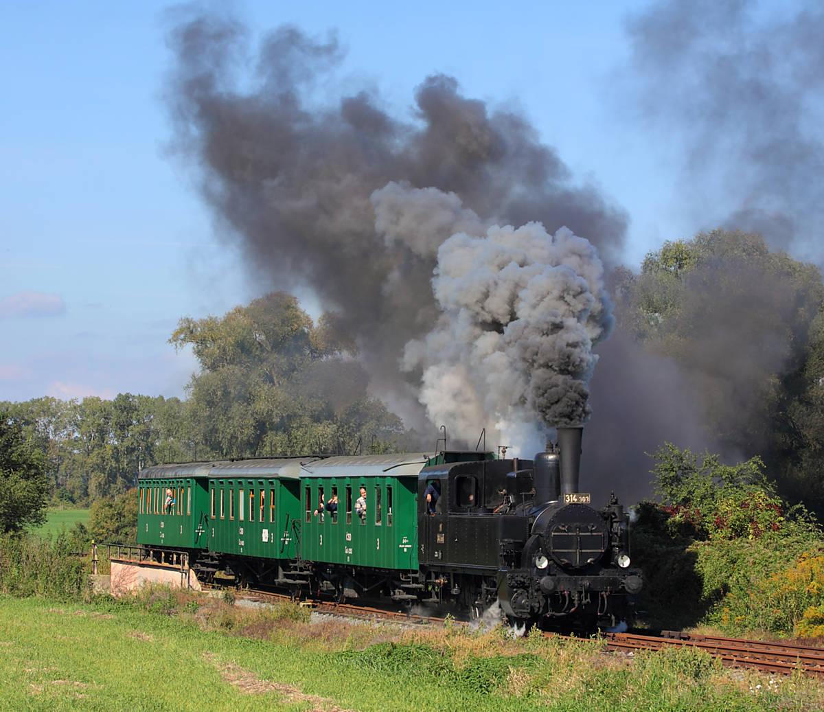Zamykání točny s vyjížďkami zvláštních vlaků do okolí Olomouce