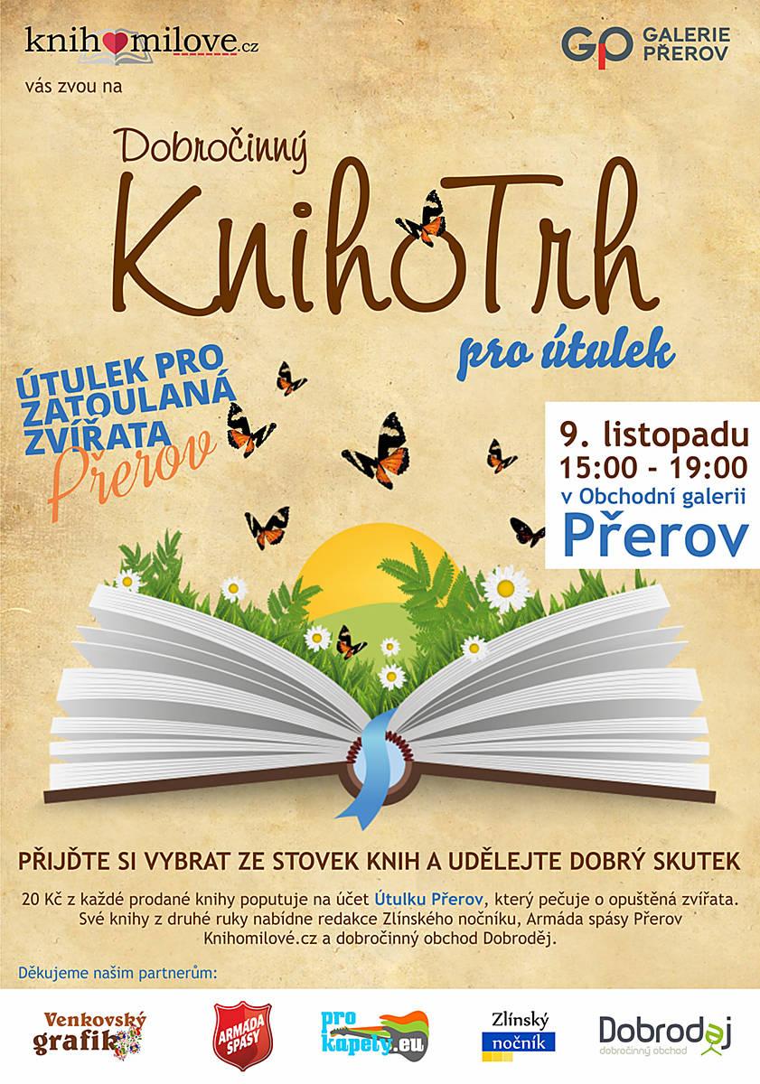 Dobročinný KnihoTrh v Přerově