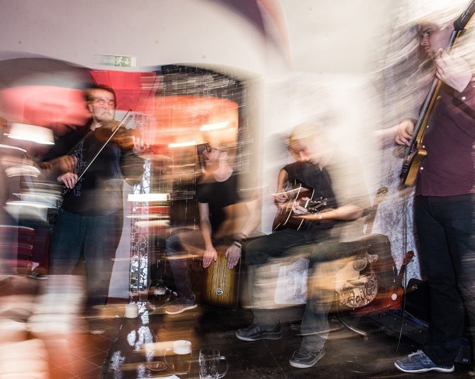 Koncert kapely Fofrklacek