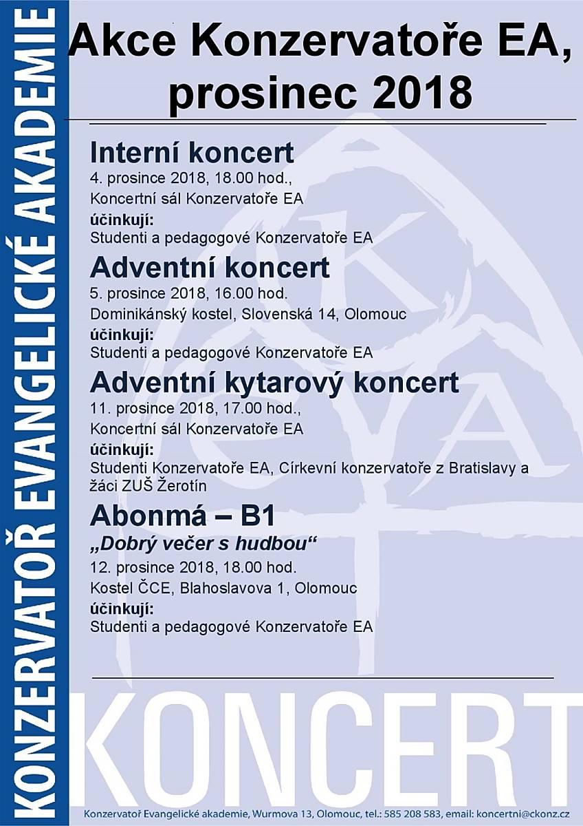 Interní koncert
