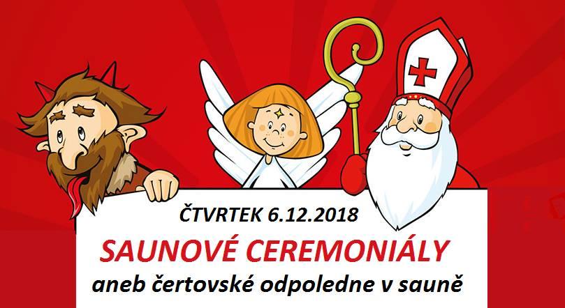 Saunové ceremoniály v den svatého Mikuláše
