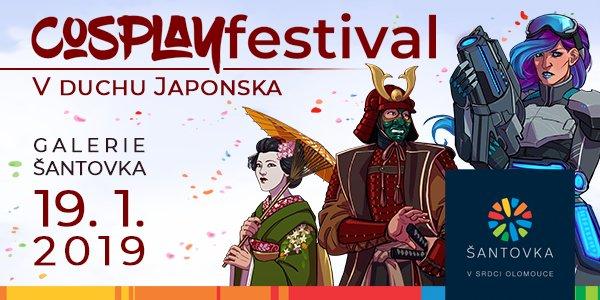 Cosplay festival Olomouc 2019
