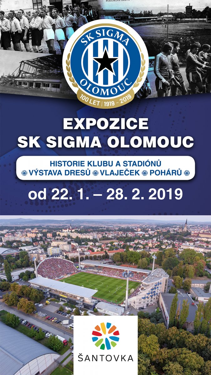 100 let historie SK Sigma Olomouc
