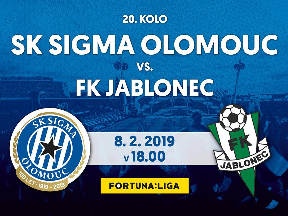 SK Sigma Olomouc vs. FK Jablonec