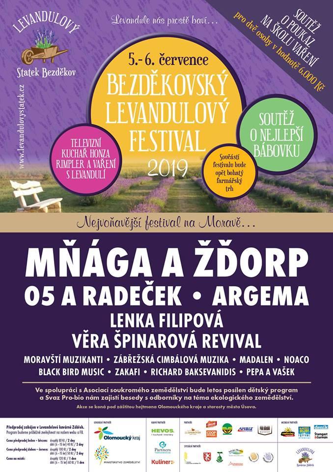 Bezděkovský Levandulový festival 2019
