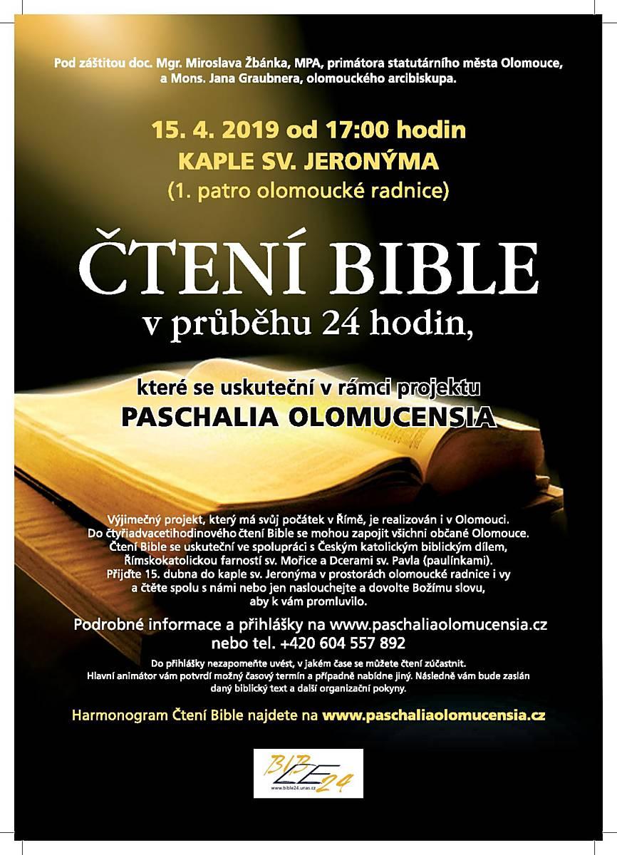 Čtení Bible v průběhu 24 hodin
