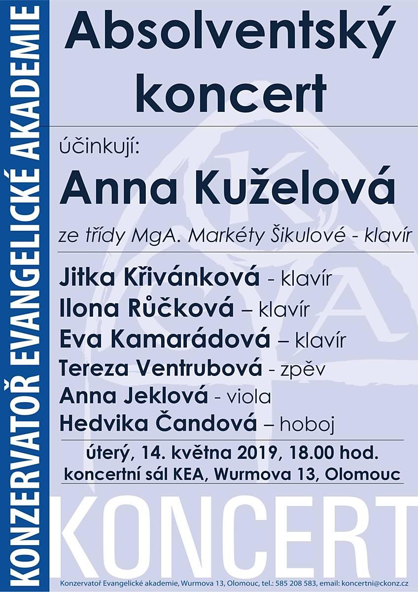 Absolventský koncert KEA