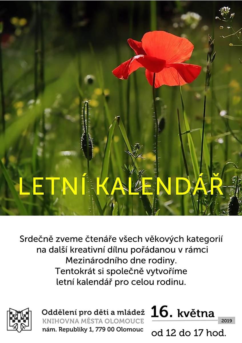 Letní kalendář