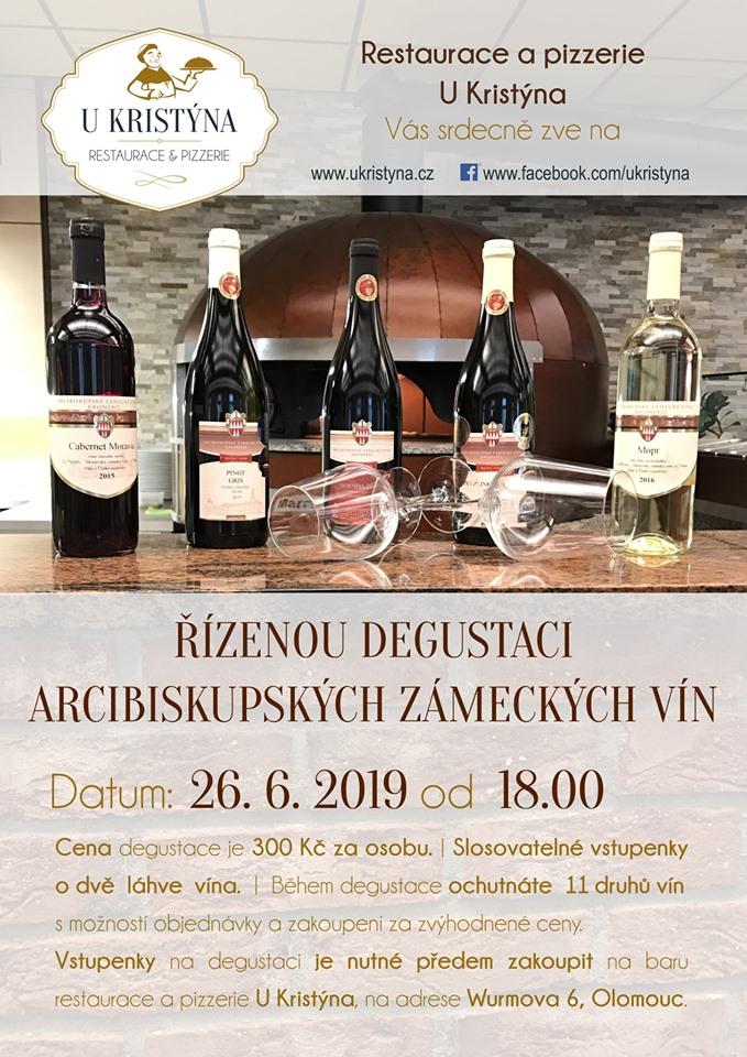 Řízená degustace Arcibiskupských zámeckých vín