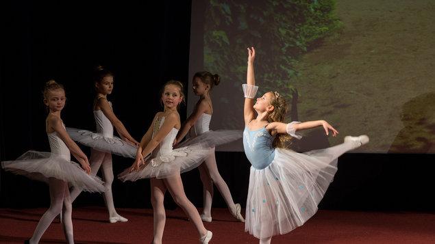 Závěrečné vystoupení Baletní školy I.Popova