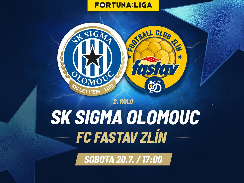 SK Sigma Olomouc vs. Fastav Zlín