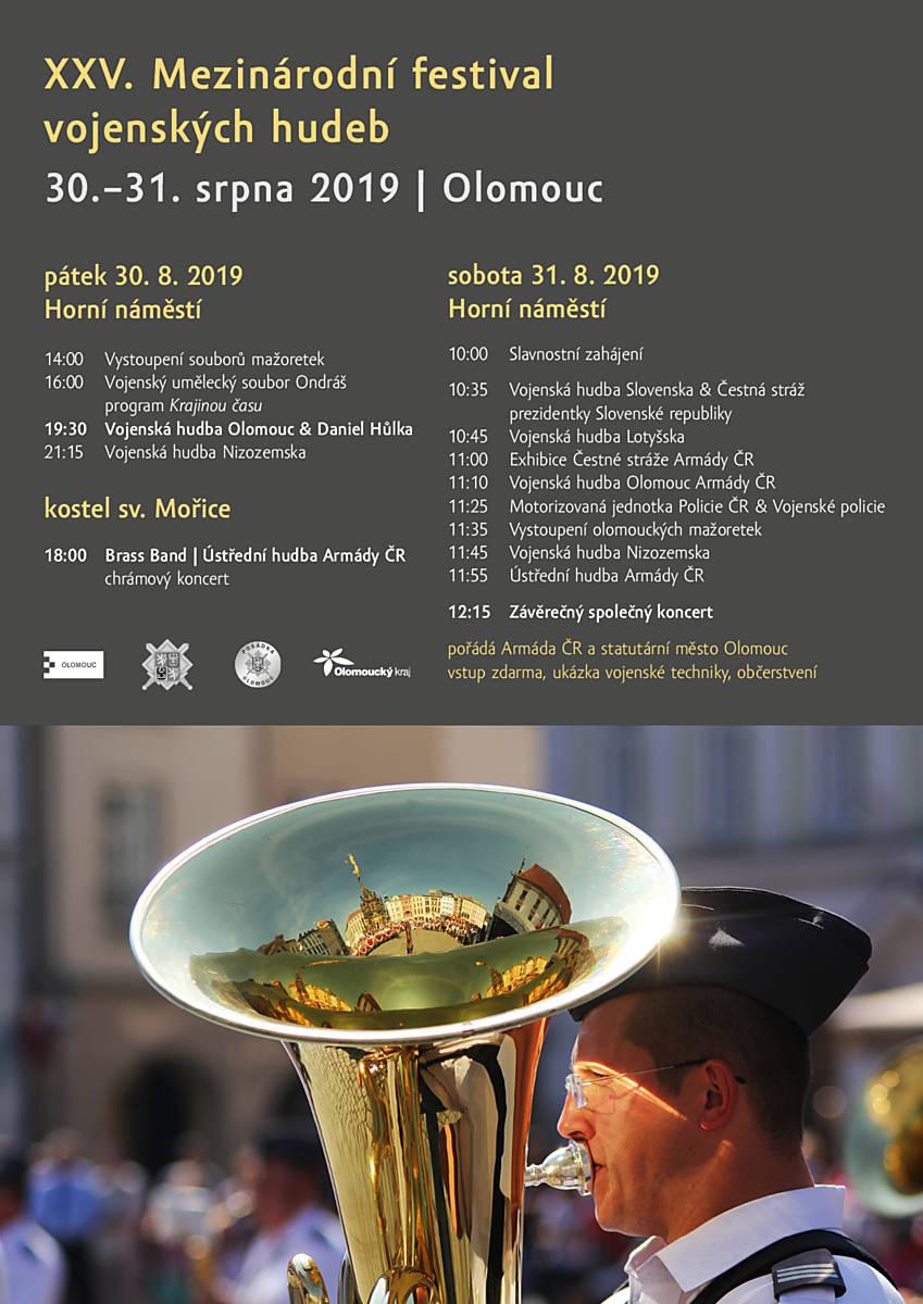 XXV. ročník Mezinárodního festivalu vojenských hudeb