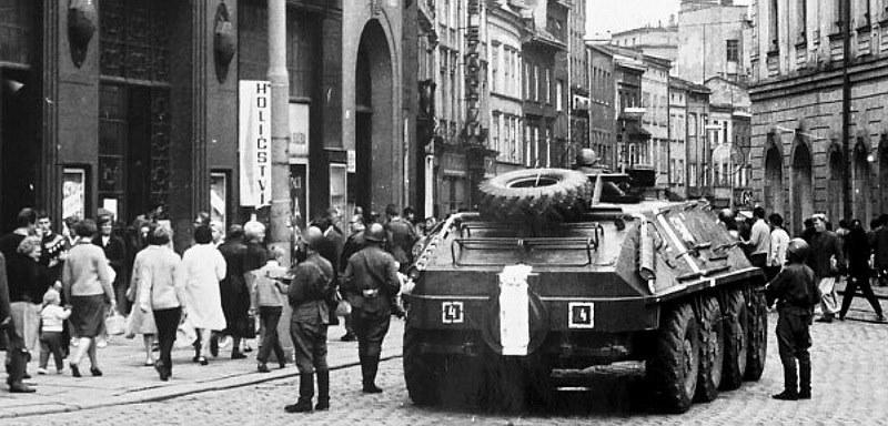 Pietní akce k výročí okupace 21. srpna 1968