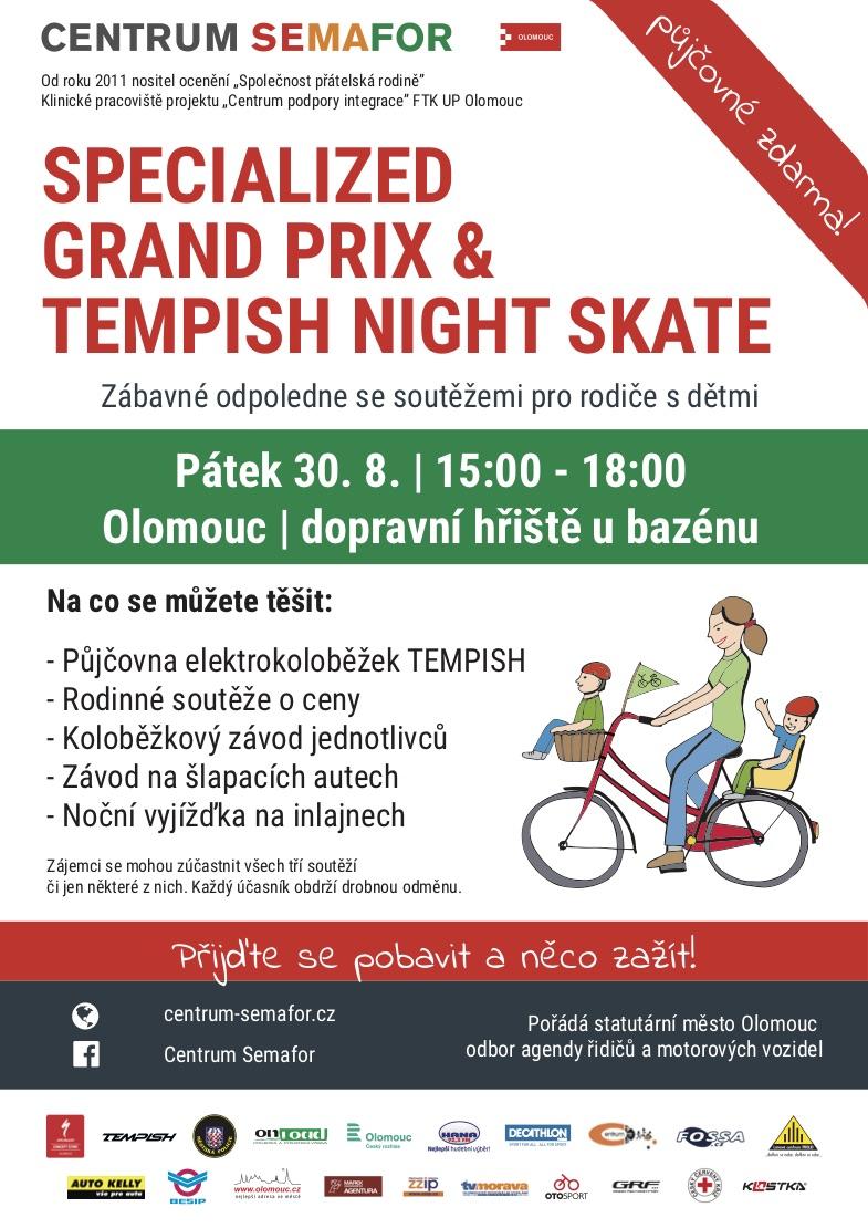 Specialized Grand Prix +Tempish Night Skate
