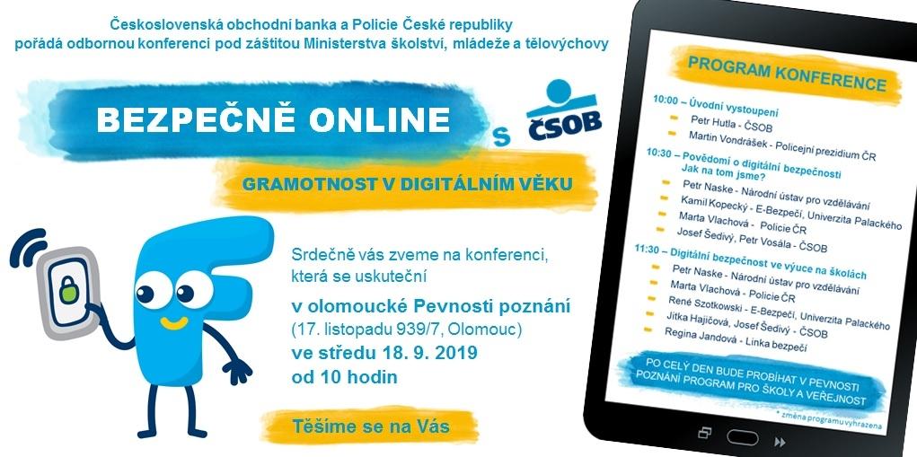 Bezpečně online: gramotnost v digitálním věku - detail akce