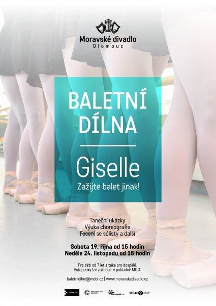 Baletní dílna - Giselle