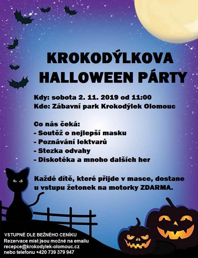 Krokodýlkova Halloween Párty