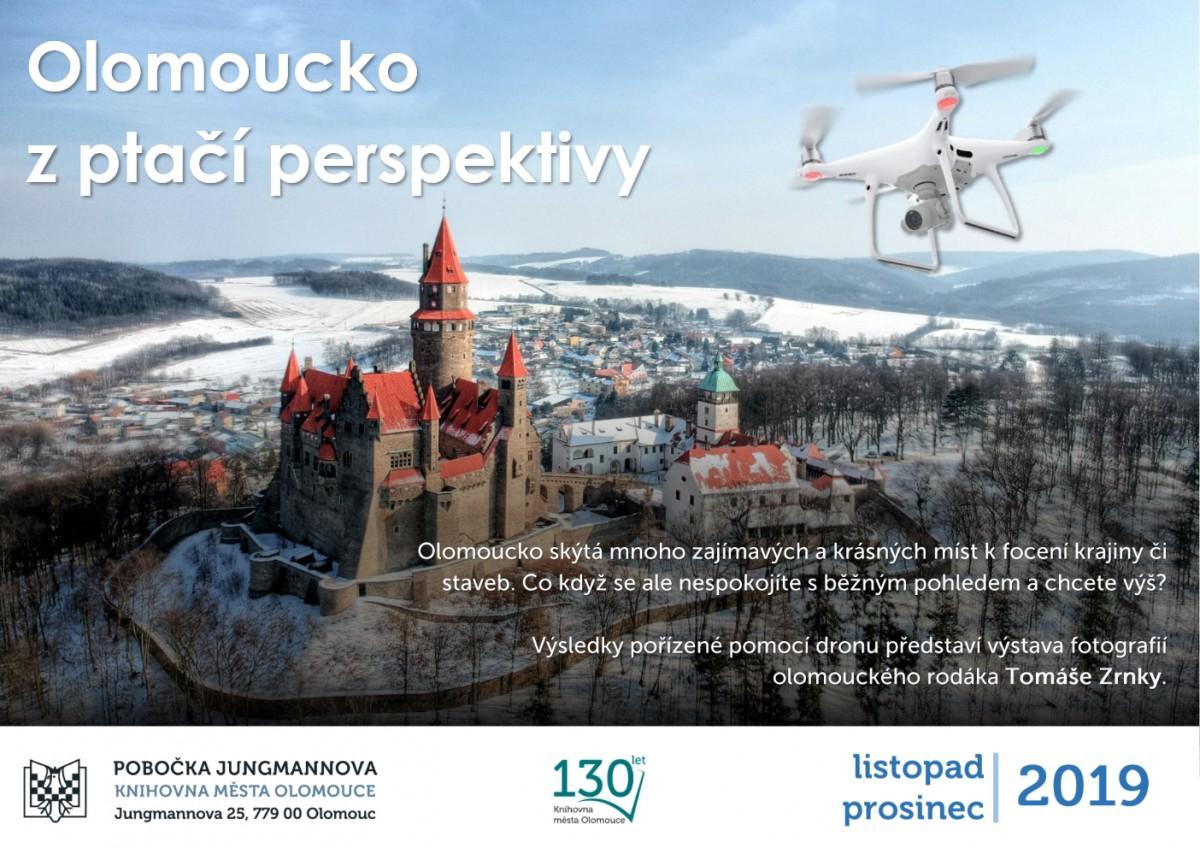 Olomoucko z ptačí perspektivy