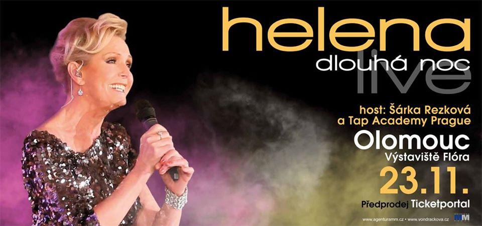 Helena Dlouhá noc live