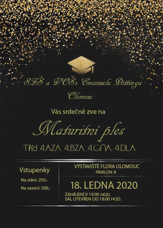 Maturitní ples SZŠ E. Pöttinga