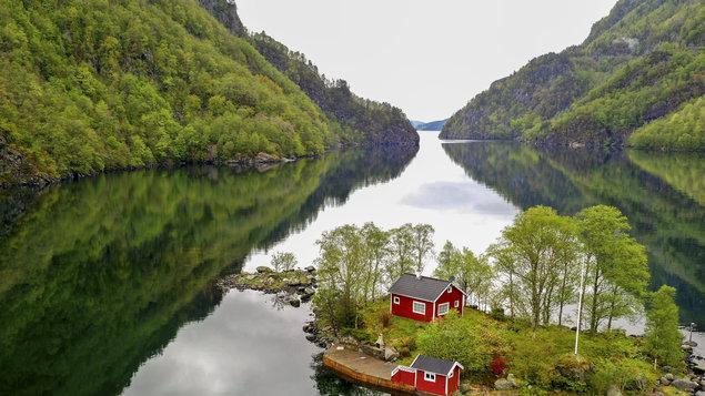 Jiří Kolbaba - Norsko - oslava přírody