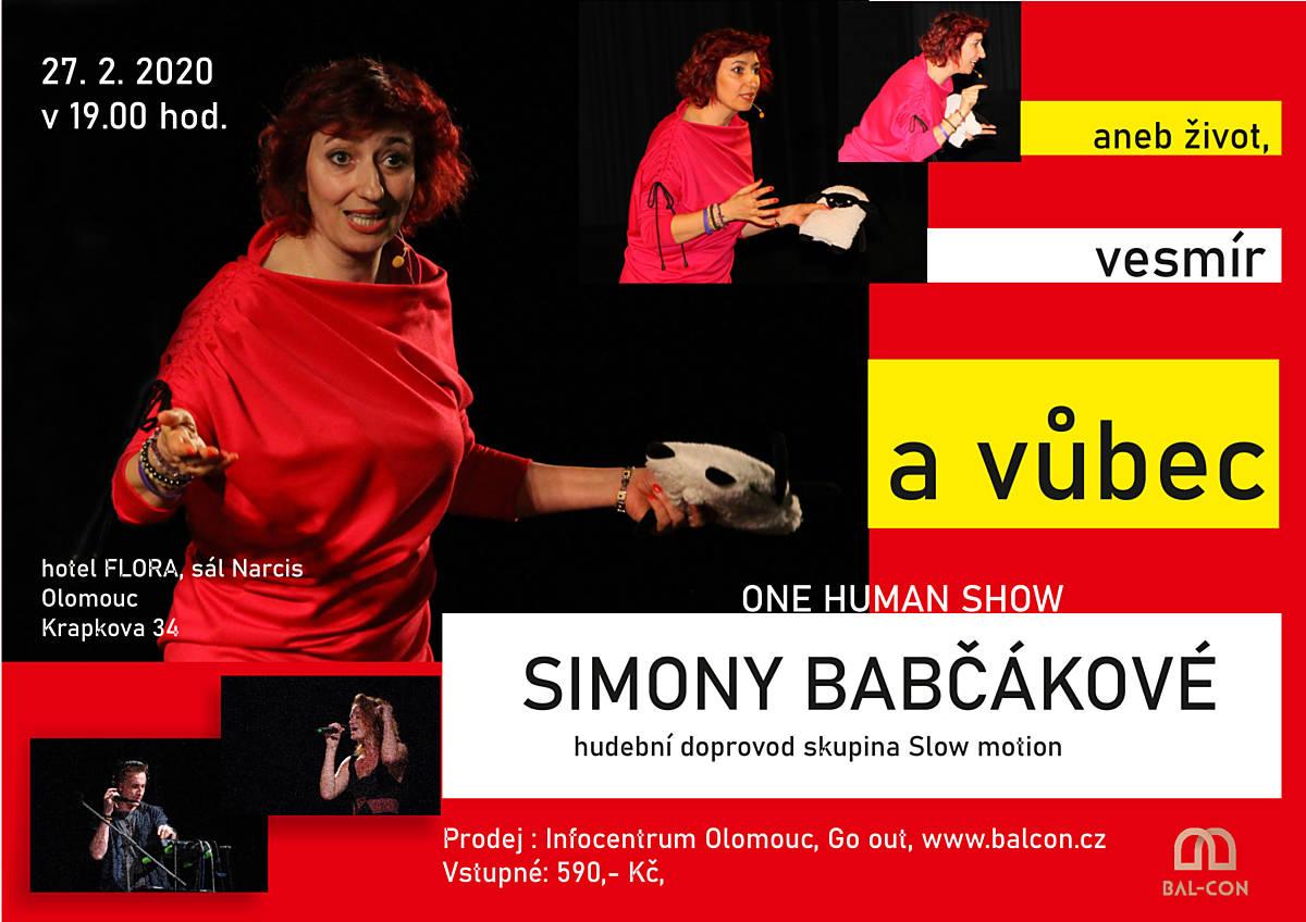 One Human Show Simony Babčákové