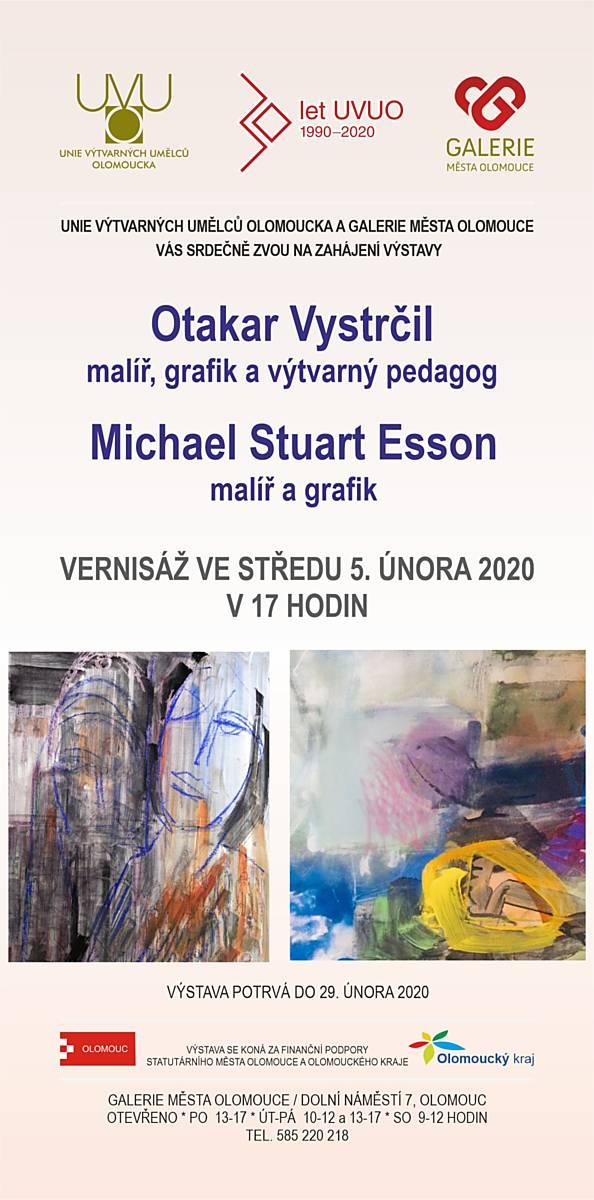 Otakar Vystrčil a Michael Stuart Esson