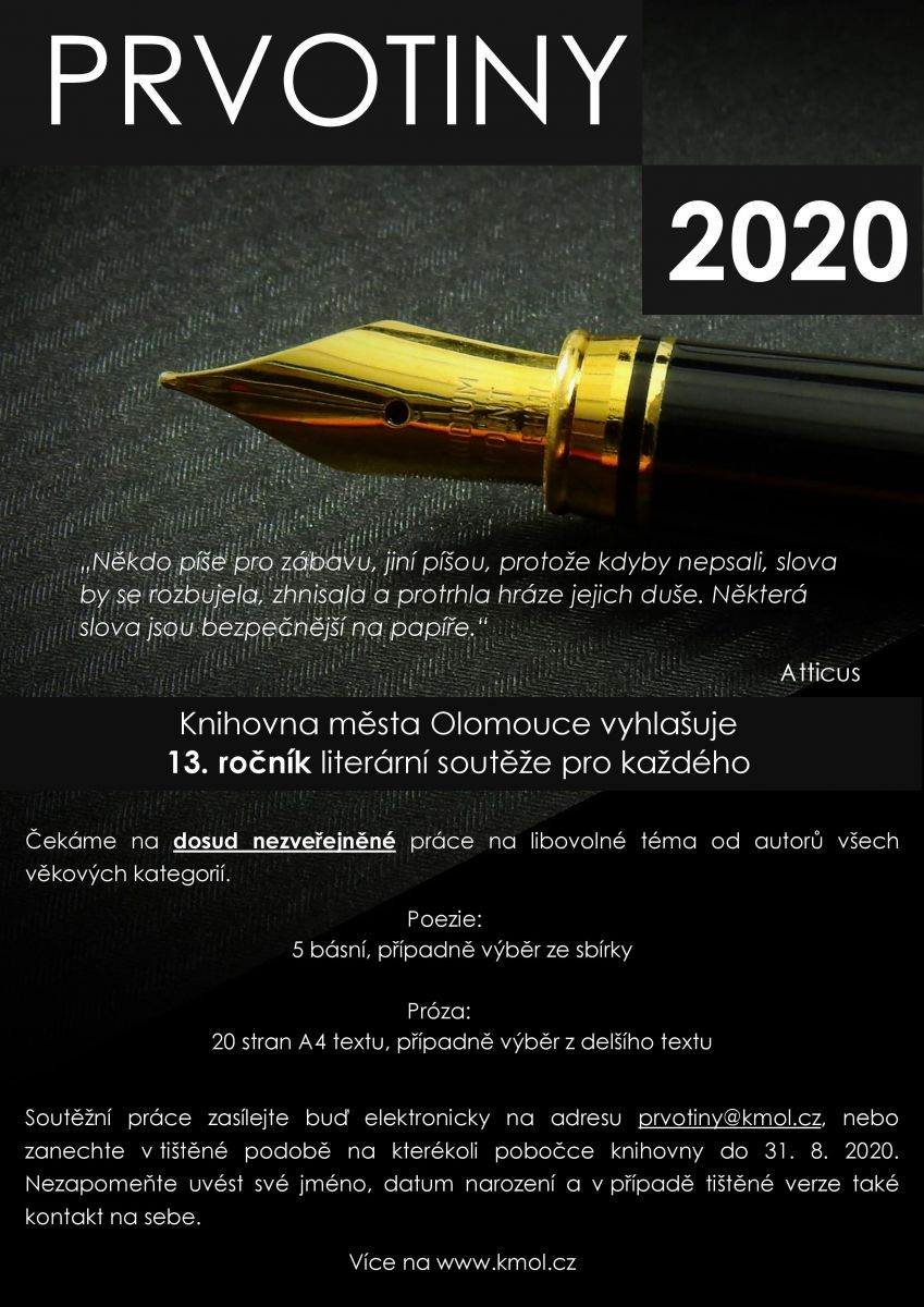 Prvotiny 2020