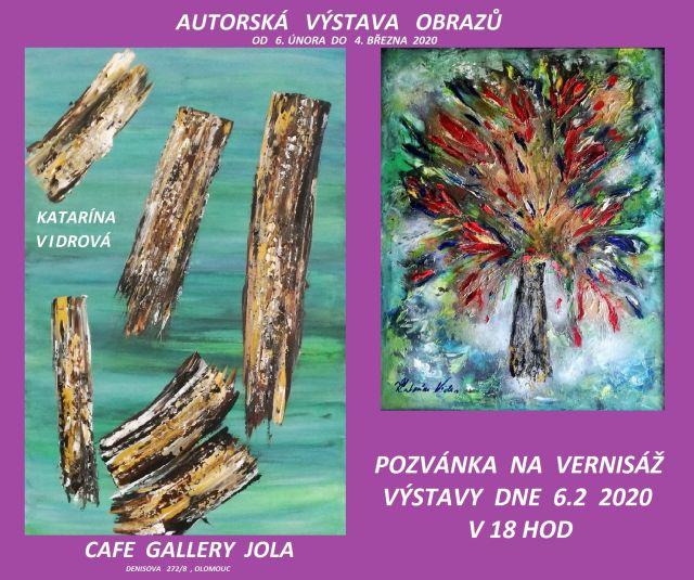 Výstava obrazů - Katarína Vidrová