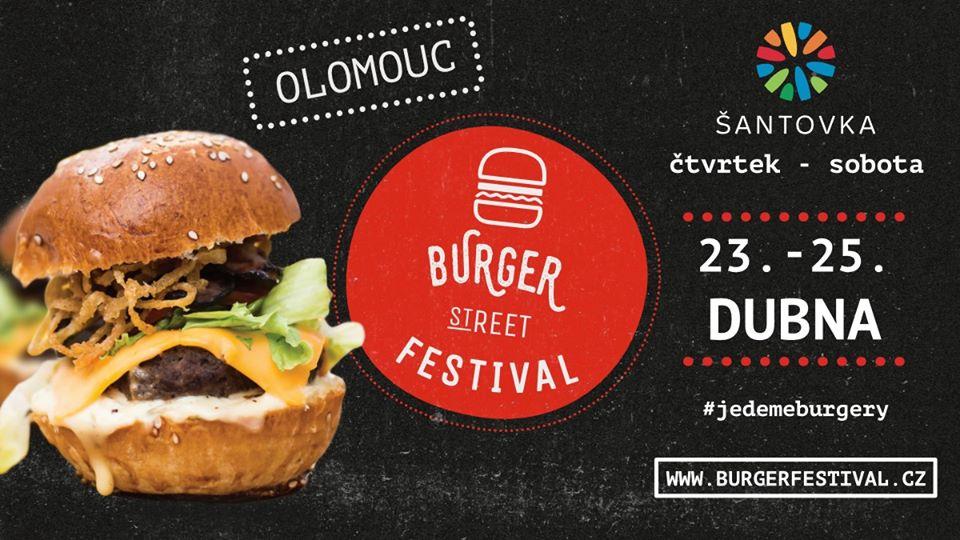 Burger Street Festival Olomouc - PŘESUNUTO