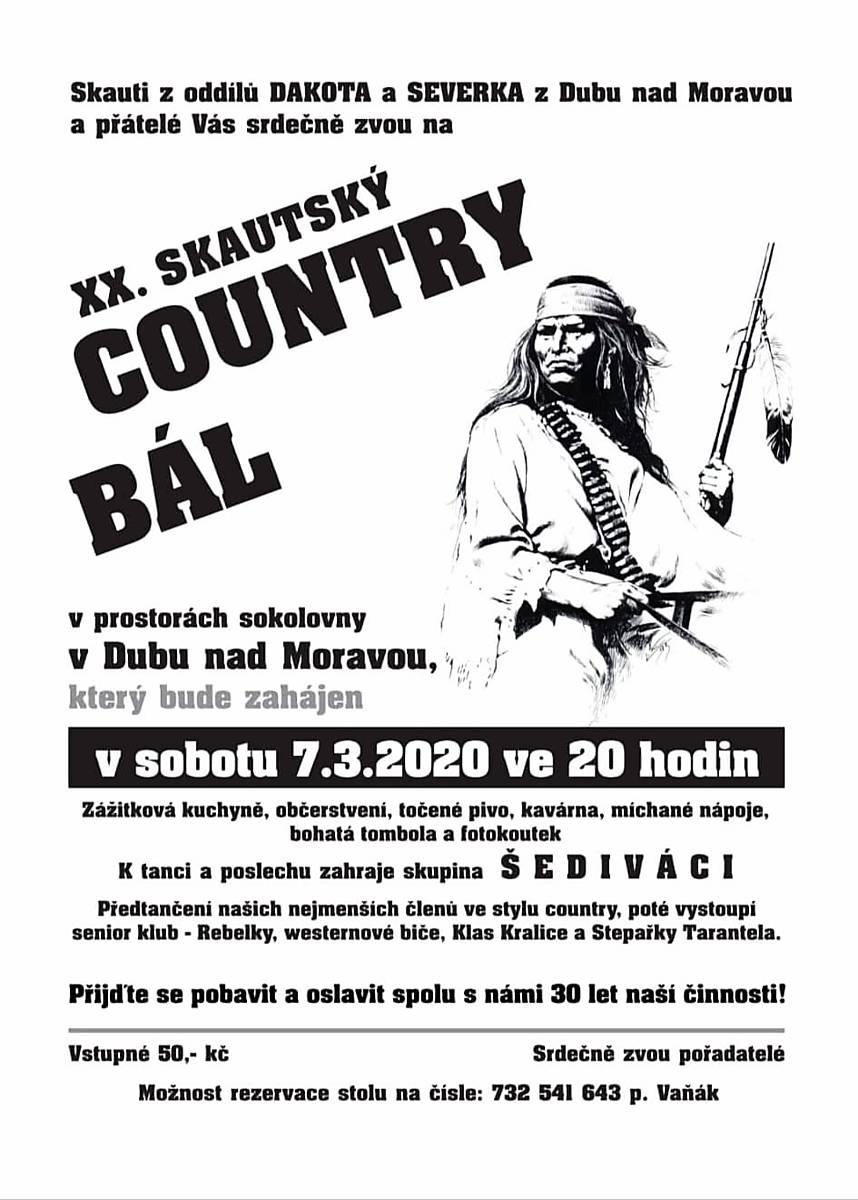 XX. Skautský country bál