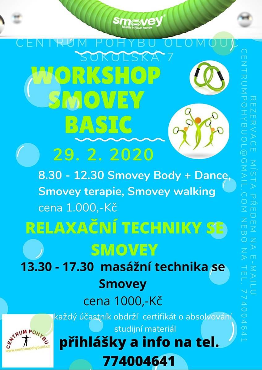 SMOVEY: workshop + relaxační techniky