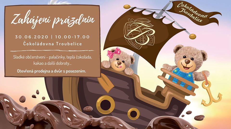 Zahájení prázdnin v Čokoládovně Troubelice