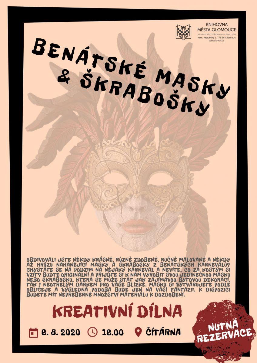Kreativní dílna – Benátské masky