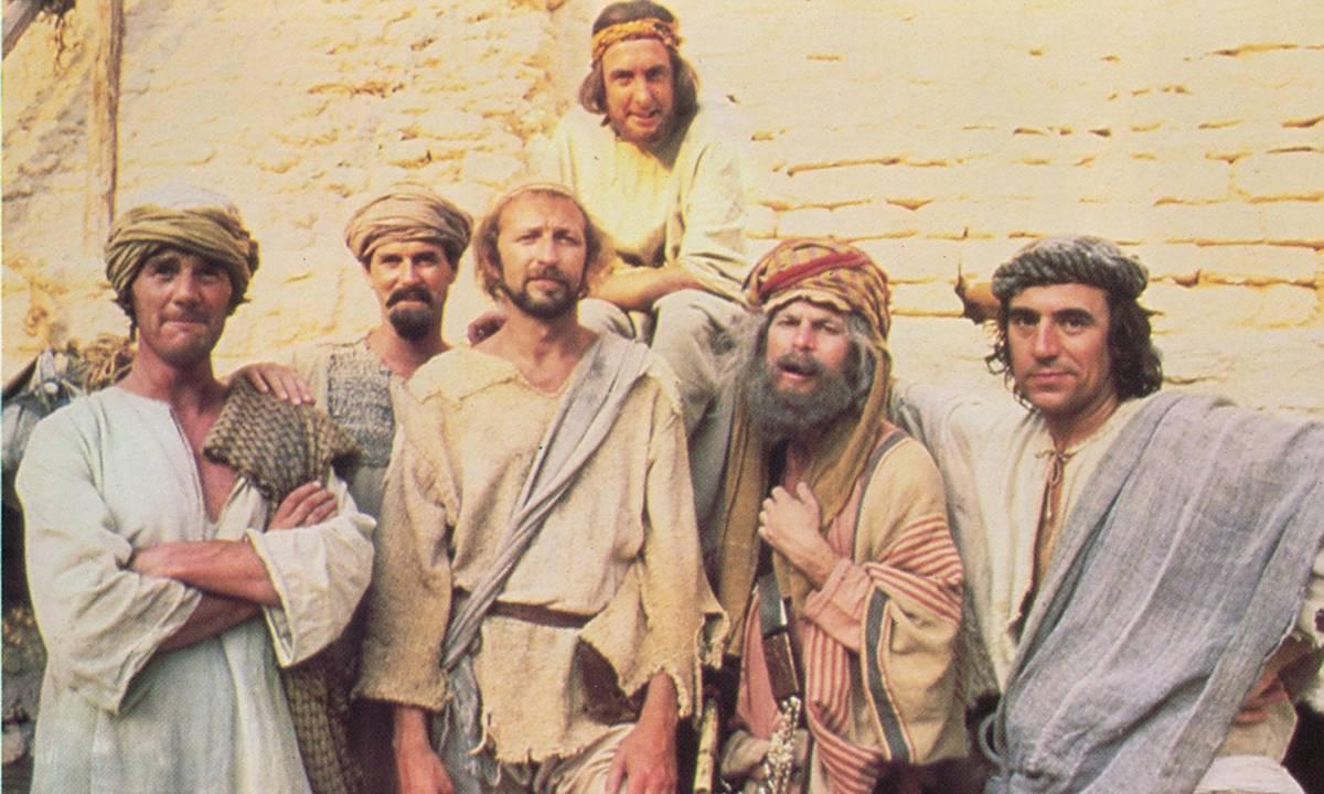 Kouř - změna programu - Monty Python: Život Briana