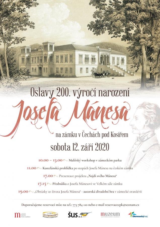 Oslavy 200. výročí narození Josefa Mánesa