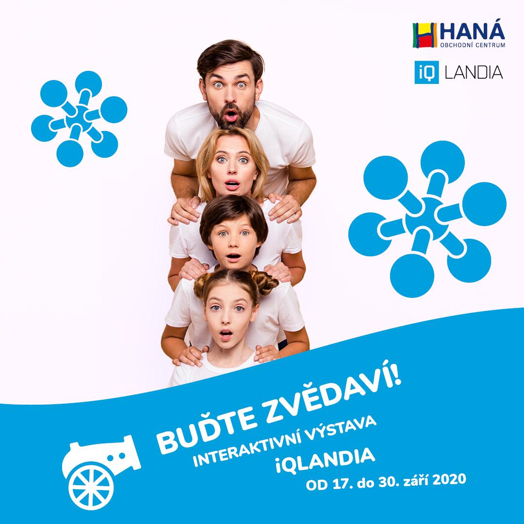Interaktivní výstava iQLANDIA míří do OC Haná!