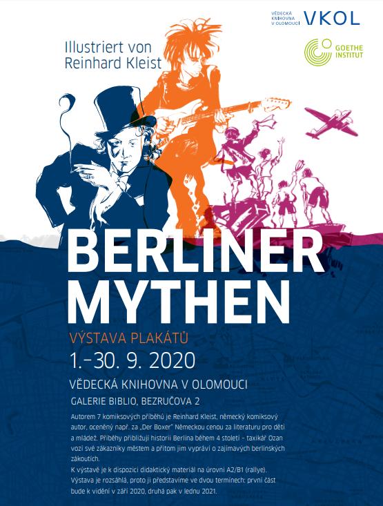 Výstava plakátů Berlin Mythen I.
