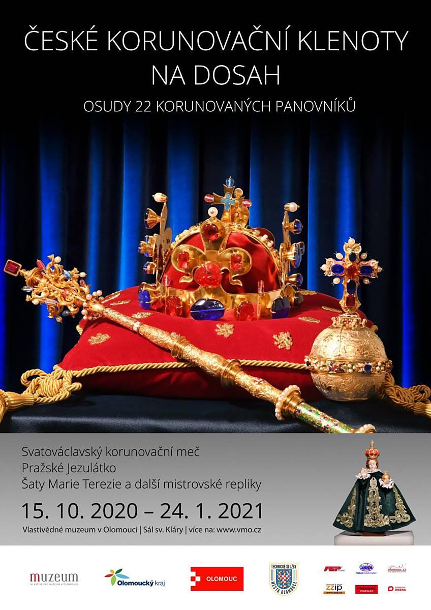 České korunovační klenoty na dosah a 22 korunovaných panovníků