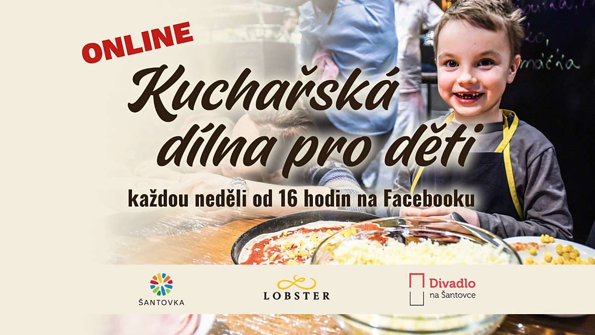 Kuchařská dílnička - ONLINE